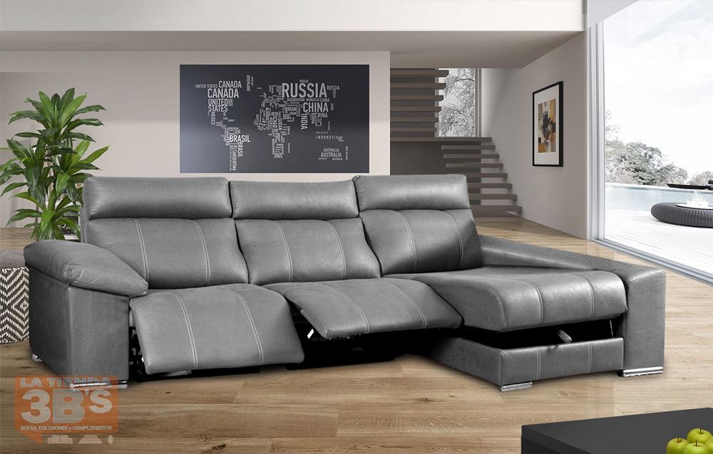 Sofa chaise longue karter la tienda 3bs la tienda 3bs for Ofertas en sofas cheslong