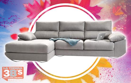 ofertas de sofa chaisenlongue, modelo climax, La Tienda 3B's Mallorca