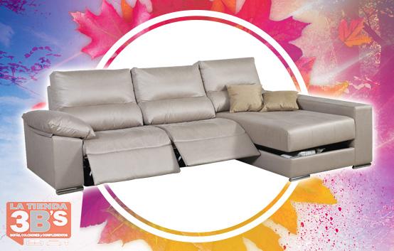 ofertas vuelta a la rutina, sofa chaiselongue electrico rainy, La Tienda 3Bs, Mallorca