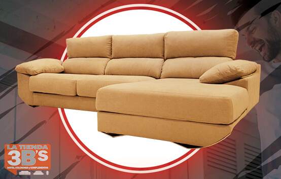 sofa chaiselongue chillax ,ofertas black friday, La Tienda 3Bs, Mallorca