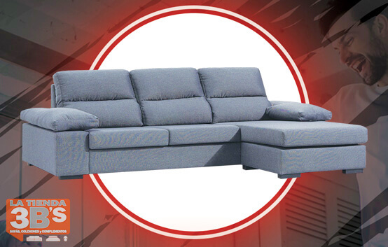 sofa chaiselongue destress ,ofertas black friday, La Tienda 3Bs, Mallorca