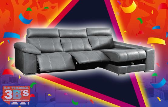 3Bs 15 Aniversario Oferta Sofa Chaiselongue Fervor