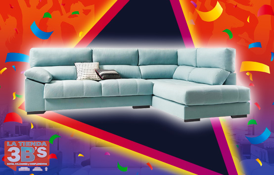 3Bs 15 Aniversario Oferta Sofa Rinconera Elegance