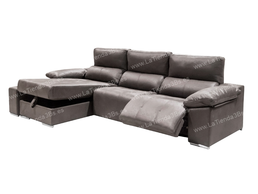 Sofa Chaiselongue Llubi 4 LaTienda3Bs| La Tienda 3Bs