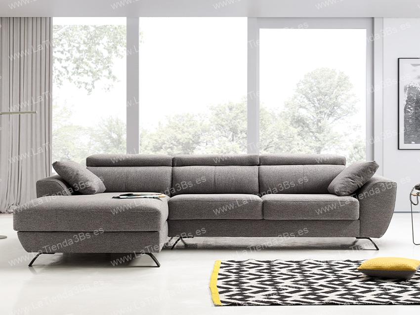 Sofa Chaiselongue Cerdeña 2 LaTienda3Bs