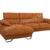 Sofa Chaiselongue Mira Blau 2 LaTienda3Bs| La Tienda 3Bs