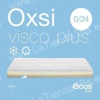 Colchon antiasfixia cuna Oxsi Visco Plus 2 LaTienda3Bs| La Tienda 3Bs