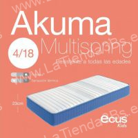 Colchon muelles ensacados ninos Akuma Multispring 2 LaTienda3bs  La Tienda 3Bs