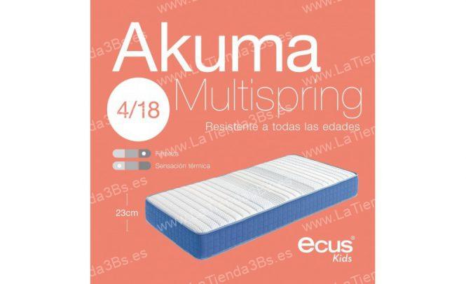 Colchon muelles ensacados ninos Akuma Multispring 2 LaTienda3bs| La Tienda 3Bs