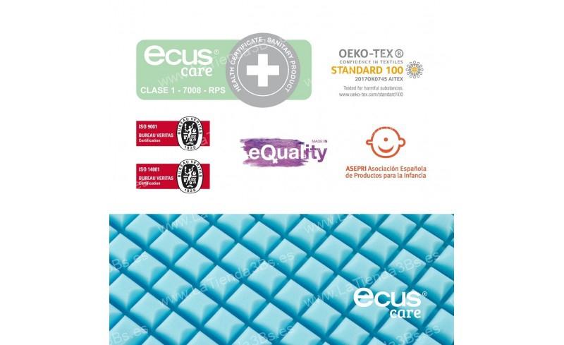 Colchon ninos certificado sanitario Care 8 LaTienda3bs| La Tienda 3Bs