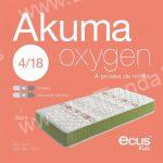Colchon viscoelastico infantil Akuma Oxygen 2 LaTienda3bs  La Tienda 3Bs