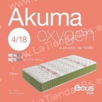 Colchon viscoelastico infantil Akuma Oxygen 2 LaTienda3bs| La Tienda 3Bs
