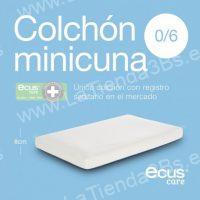 colchon de mini cuna ecus care mini antiplagiocefalia 2 LaTienda3Bs  La Tienda 3Bs