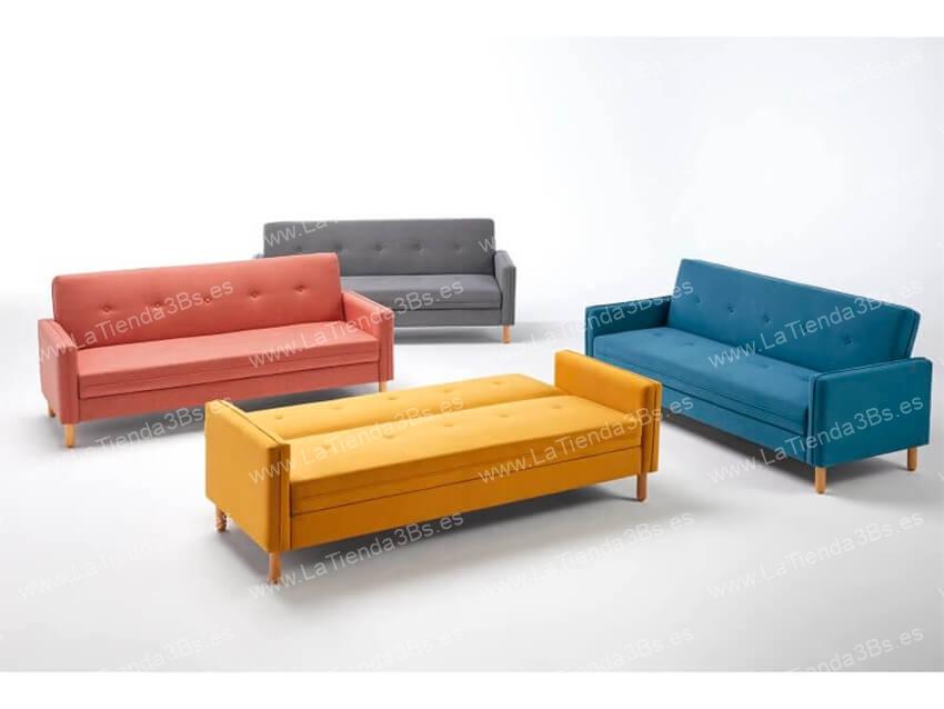 Sofa cama Lleida 2 LaTienda3bs 1| La Tienda 3Bs