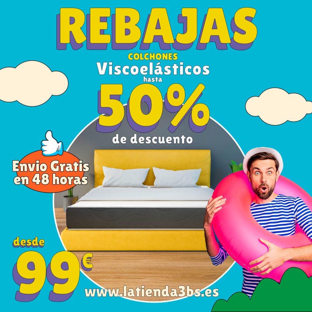 LaTienda3Bs Rebajas Colchones Viscoelasticos 1500x1500 1| La Tienda 3Bs