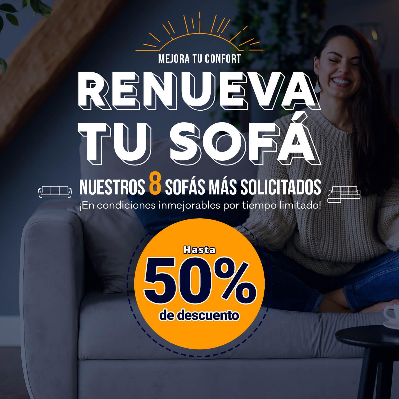 banner promo renueva tu sofa LaTienda3Bs| La Tienda 3Bs